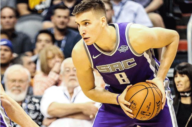 NBA: Bogdanovic hits buzzer-beater as Kings stun Lakers