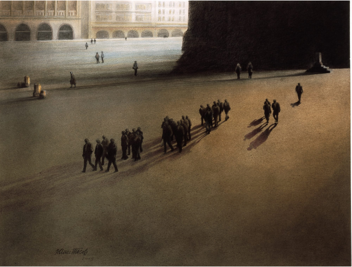 Rodoljub Anastasov's exhibition opens in City Museum of Skopje