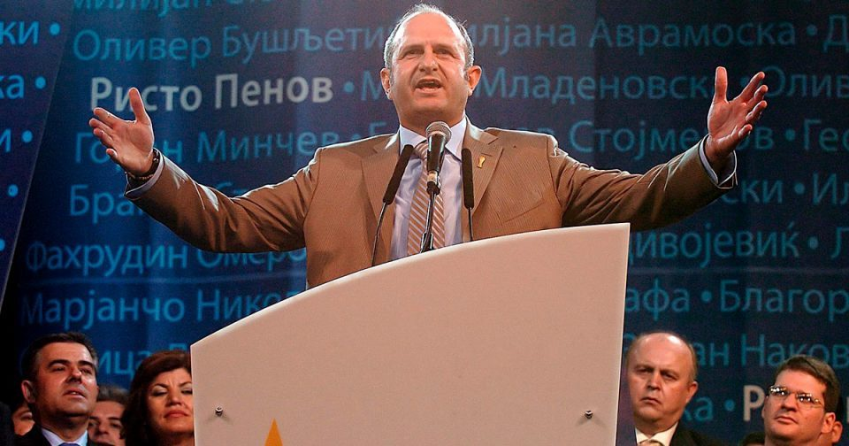 Vlado Buckovski also had his son hired by the MEPSO public energy company