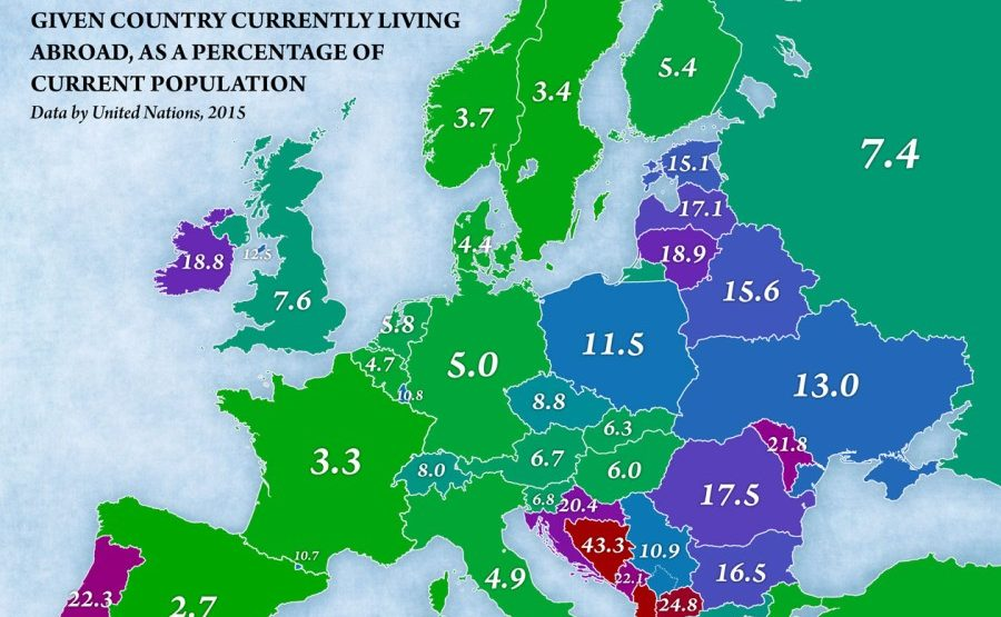 Nearly a quarter of all Macedonian citizens live abroad