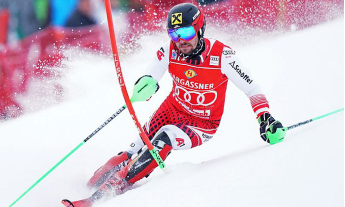 Hirscher claims another record with 63rd World Cup win