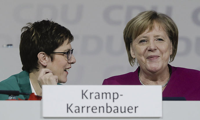 Angela Merkel's CDU receives the most large donations in 2018