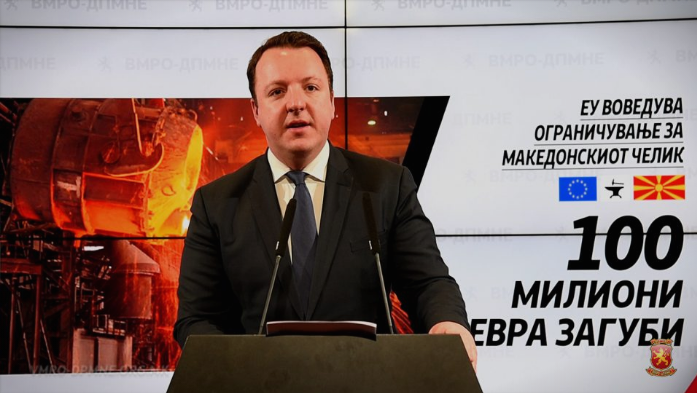 Nikoloski: SDSM inability to keep European markets open spells doom for Macedonian steel producers