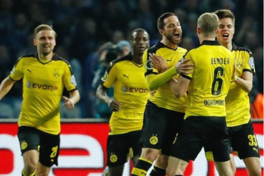 Fortuna deal Bundesliga leaders Dortmund shock loss