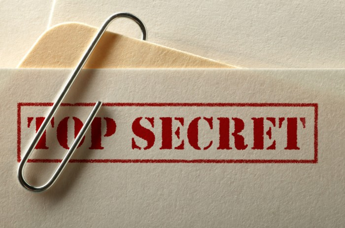 Covering up a security breach at the DSCI – Are classified information protected enough