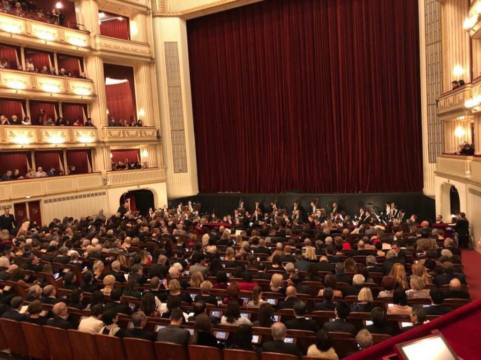 Culture Minister Asaf Ademi attended the Vienna New Year's Concert