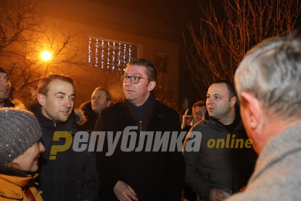 Mickoski: VMRO will not make false promises in the run up to the elections