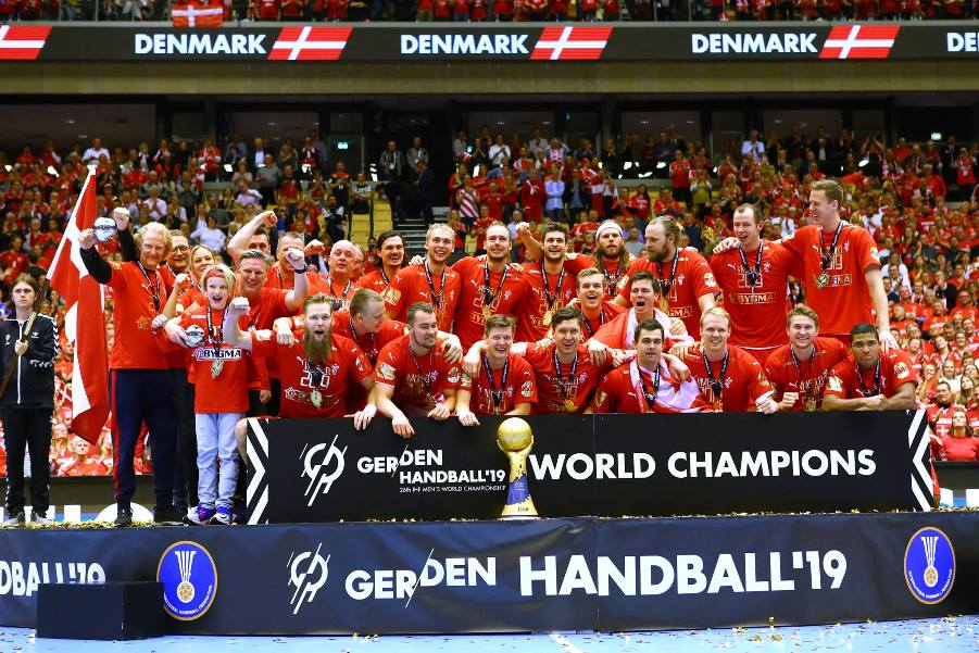 Denmark wins first world handball title, beating Norway