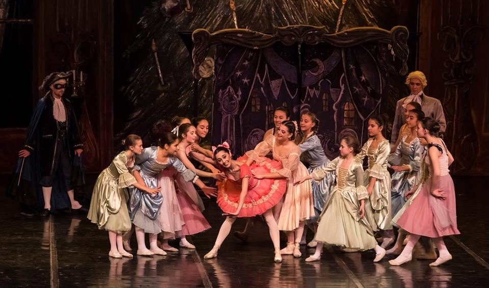 Performance of the Nutcracker in the Macedonian Opera and Ballet