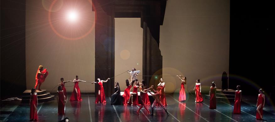 Samson and Delilah ballet at MOB