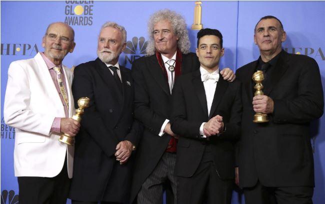 Mamma Mia! 'Rhapsody' upsets 'Star Is Born' at Globes