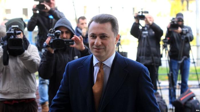 Albania deleted recordings showing Gruevski cross its border into Montenegro