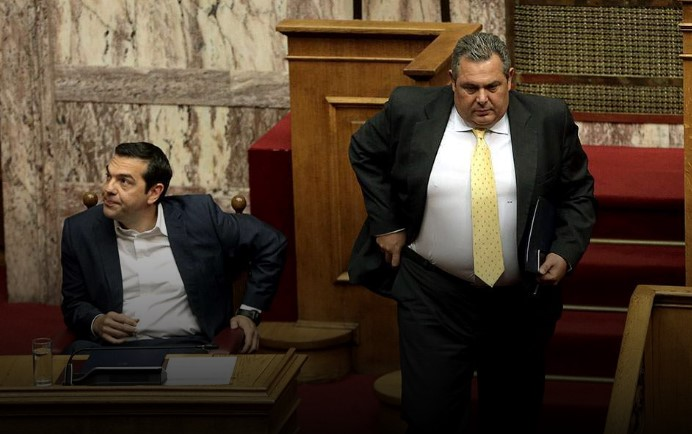 Kammenos resigns over Macedonia, vote of no confidence in Tsipras' Government next week