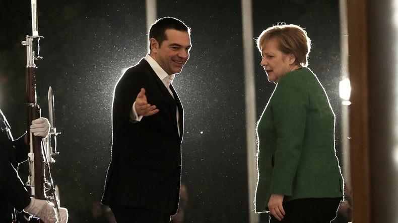 German Chancellor Angela Merkel sparks violent clash in Athens
