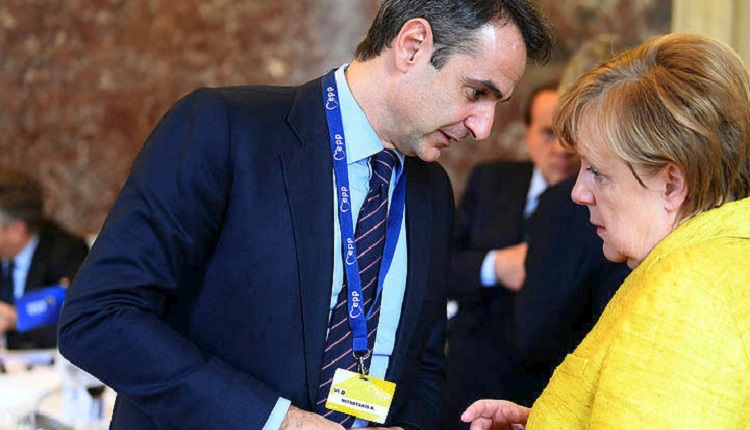 Mitsotakis told Merkel his party will not vote for the Prespa treaty