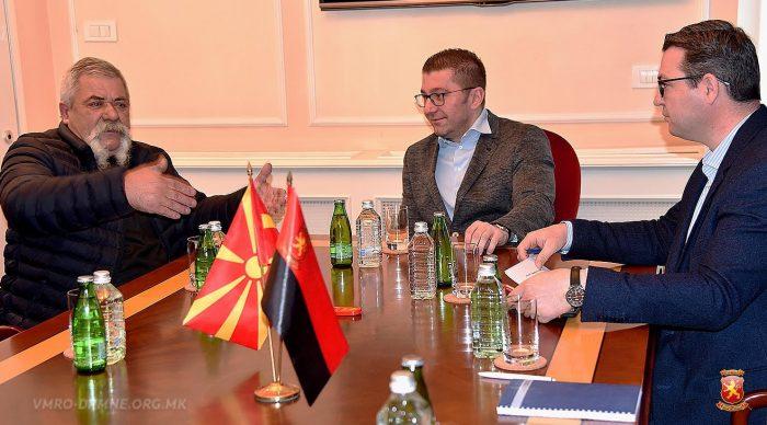 Mickoski promises help for hard hit farmers in Macedonia's wine region