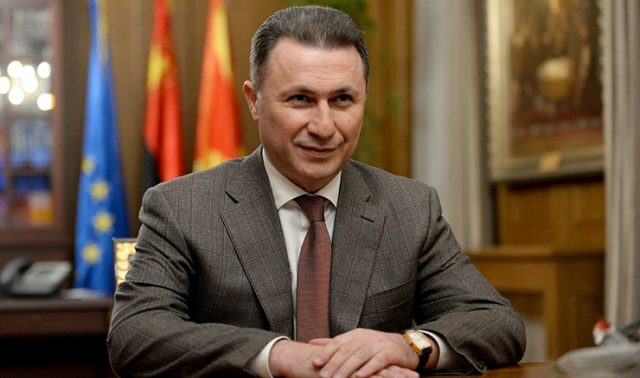 Nikola Gruevski calls on the members of Parliament to reject the Prespa treaty