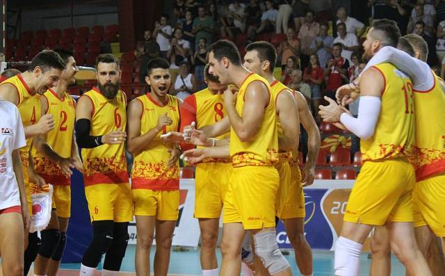 Macedonia qualifies for the European volleyball championship