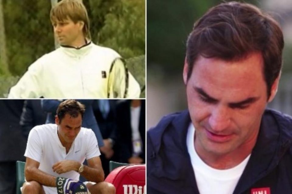 'Never broken down like this' – Roger Federer in tears as he discusses tragic coach's death