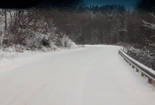 Snowfalls, temperatures will range between -1C to 1C