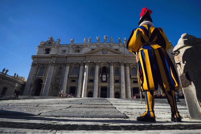 Vatican launches track team of Swiss Guards, nuns