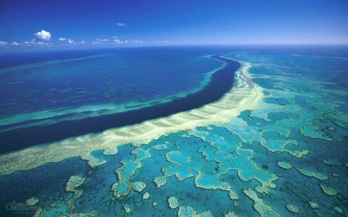 Northern Australia floods send muddy water across Great Barrier Reef
