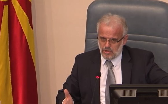 Xhaferi blames Muhamed Zekiri from SDSM for yesterday's chaos in the Parliament