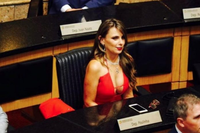 'Get used to women in politics': Lawmaker to sue trolls after her plunging neckline stirs Brazil