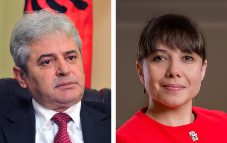 Carovska without concrete answer whether Ahmeti's view will affect the relations in the coalition