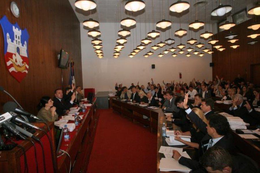 Opposition boycotts Belgrade Assembly session