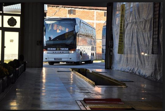 """Bus operator """"Durmo"""" also owns a mechanical test facility, allowing it to avoid independent inspections"""
