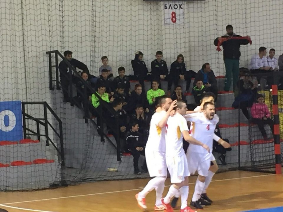 Macedonian futsal team beats Greece 5:3