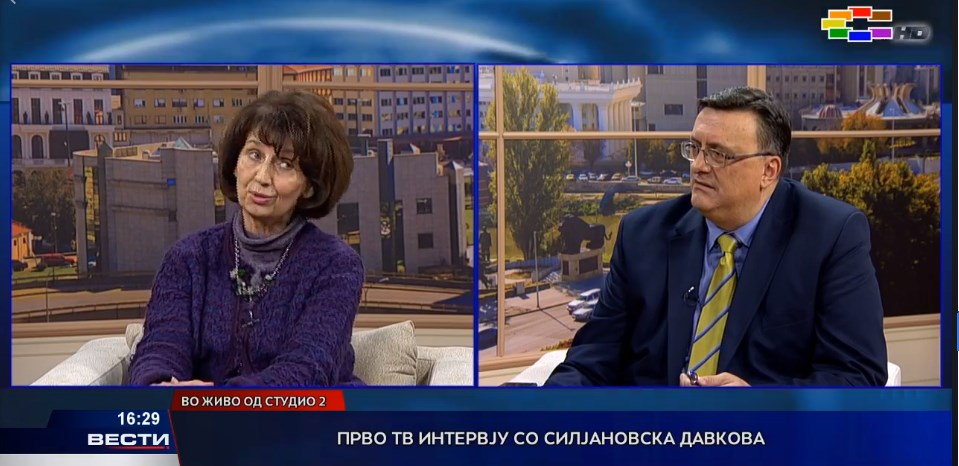 Professor Siljanovska responds to criticism from the left and from the right
