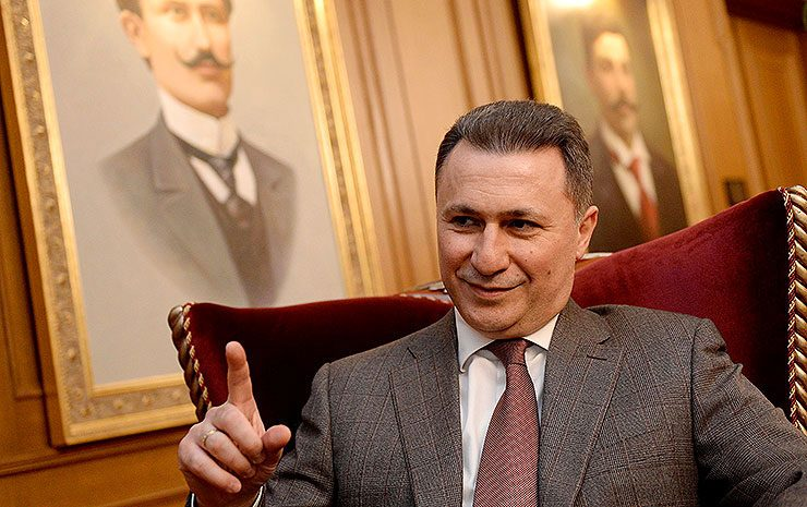 Gruevski: Zaev's Government reduced the dignity of the Macedonian state to that of a common street walker