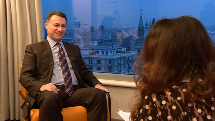 Gruevski: Macedonia is no longer a democracy