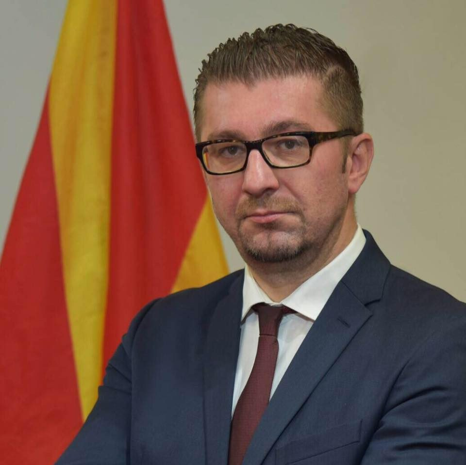 Mickoski to guest on 1TV at 21:00h