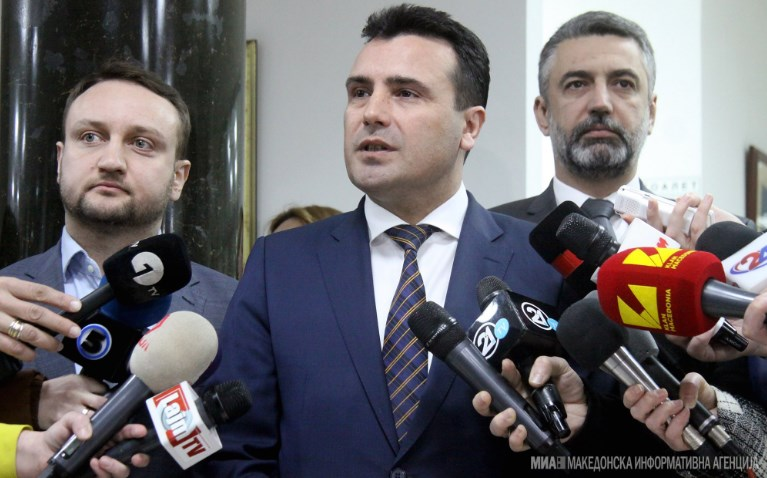 Zaev says he's looking into between four and six potential presidential candidates