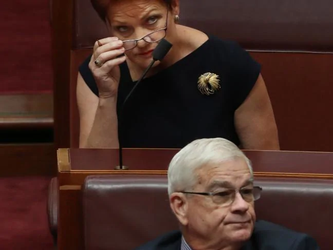 Sex and blood in Australia's Parliament