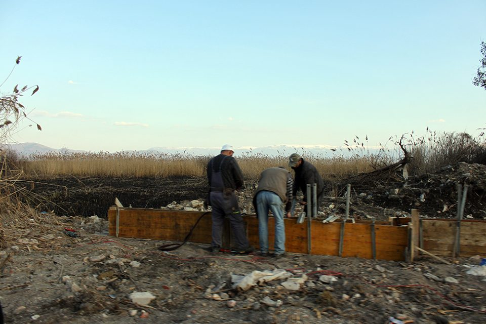 Fire that destroyed lakeside reeds in Ohrid was planted by developers