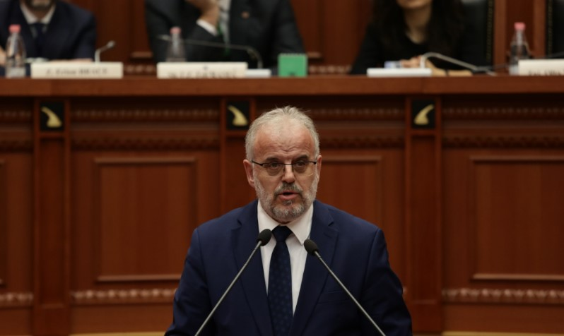 """Xhaferi celebrates with Rama: Without Albanians there would be no """"North Macedonia"""""""
