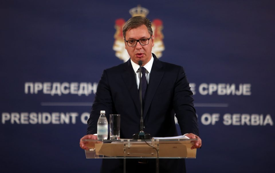 Vucic: I won't play with referendum, like they did in Macedonia