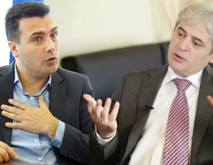 Zaev and Ahmeti to discuss joint presidential candidate on Monday