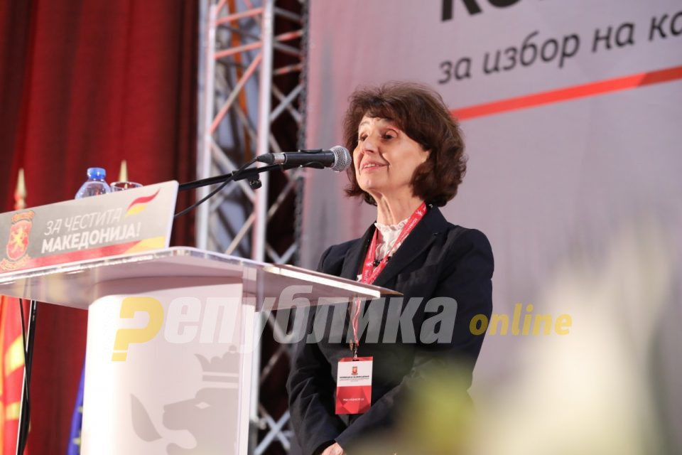 A woman promises change, she is the face of truth, a protector of the citizens: Powerful video for presidential candidate Siljanovska Davkova