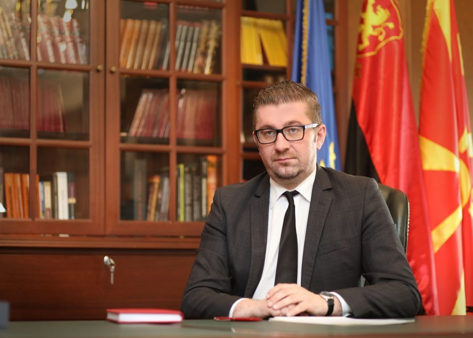 Mickoski will discuss the political situation in a Sitel TV interview