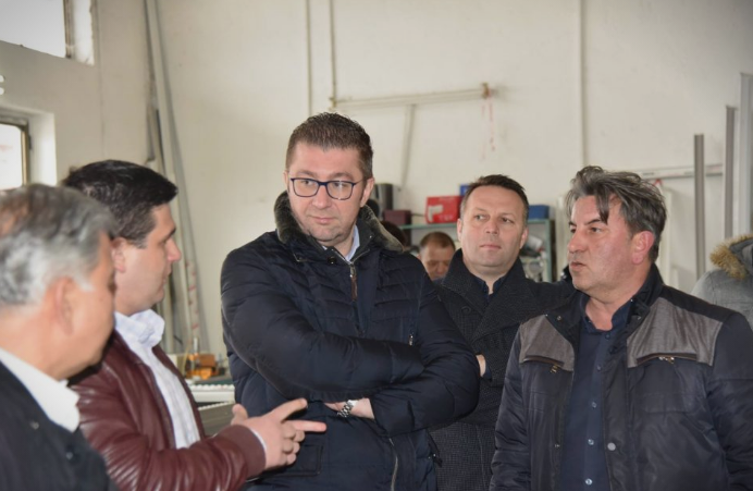 Mickoski in Kavadarci: Our priorities will be development of the economy, opening of new jobs and higher salaries