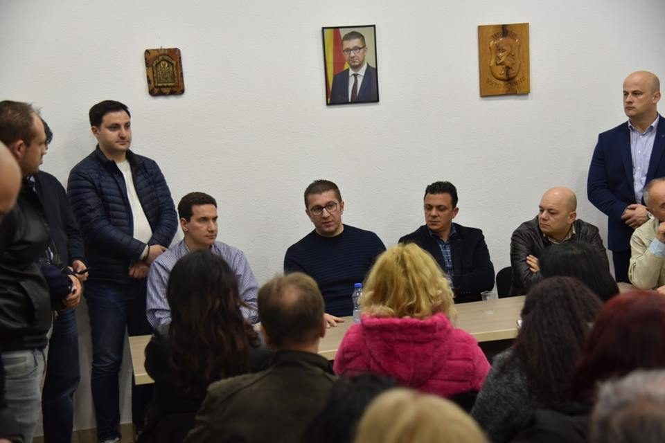 Mickoski: Zaevism brings only crime and corruption