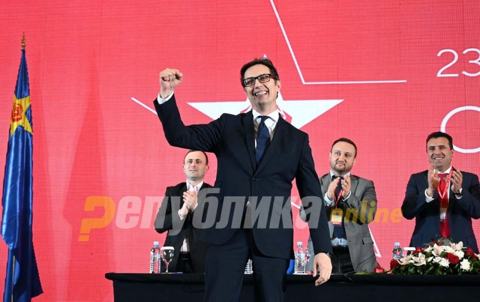 SDSM – DUI candidate Pendarovski submits his presidential application