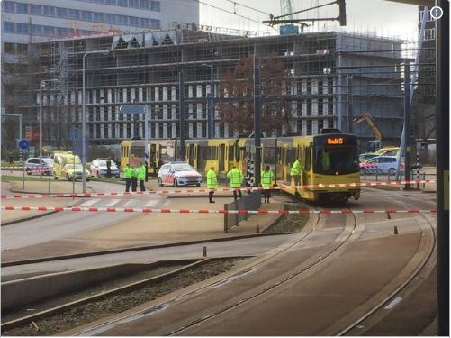 Utrecht shooting: 'One dead' as man opens fire in tram