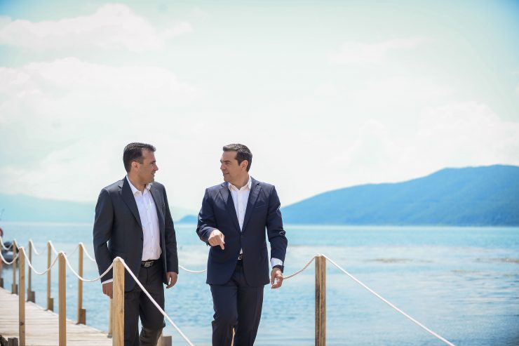 Tsipras visits Macedonia next week