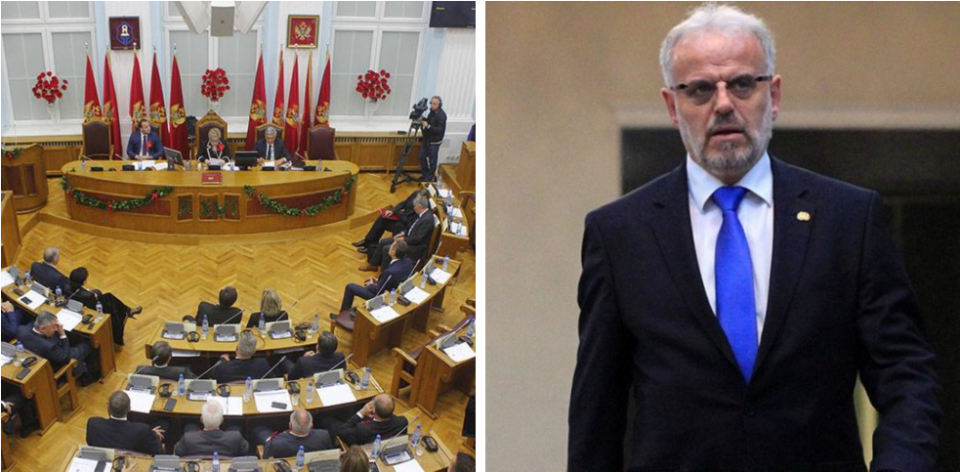 Xhaferi called out for his terrorist past in the Parliament of Montenegro